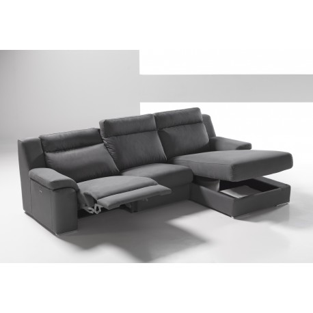 Chaise longue 1 Relax motor REF.Via 145